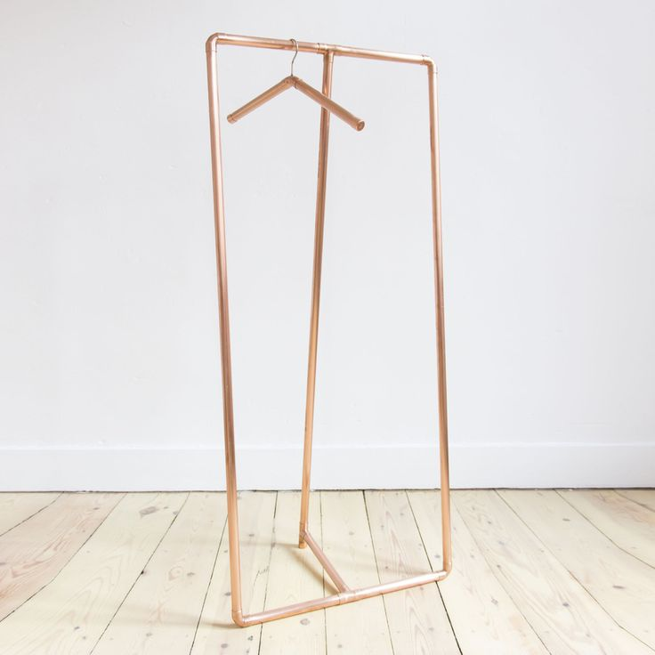 Copper Clothing Rack By Auguste Claire Objects