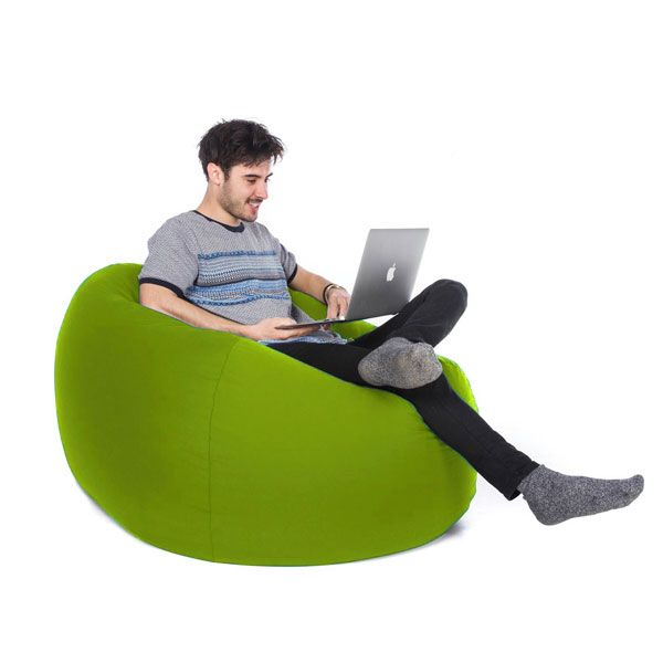 Retro Classic Bean Bag – Lime