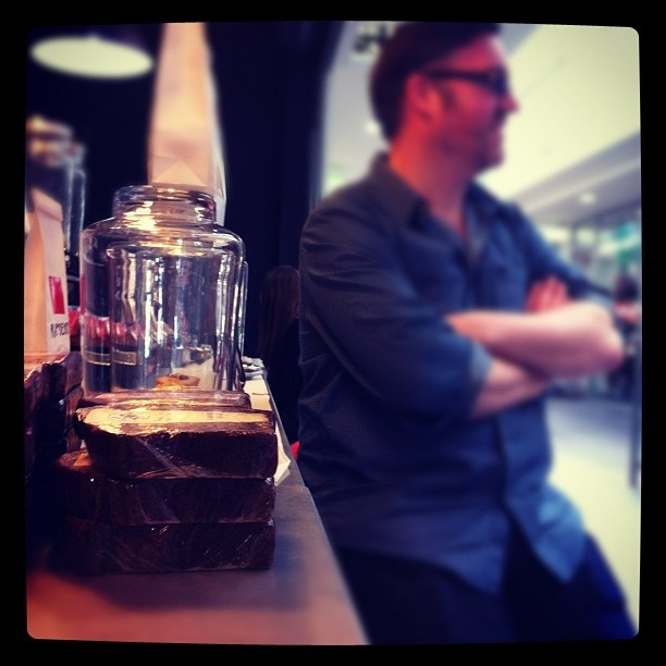 "@derekclapham's photo: ""Just chillin' at the Lab. @kaintietzel @katbray #pmhq #coffeefix"""