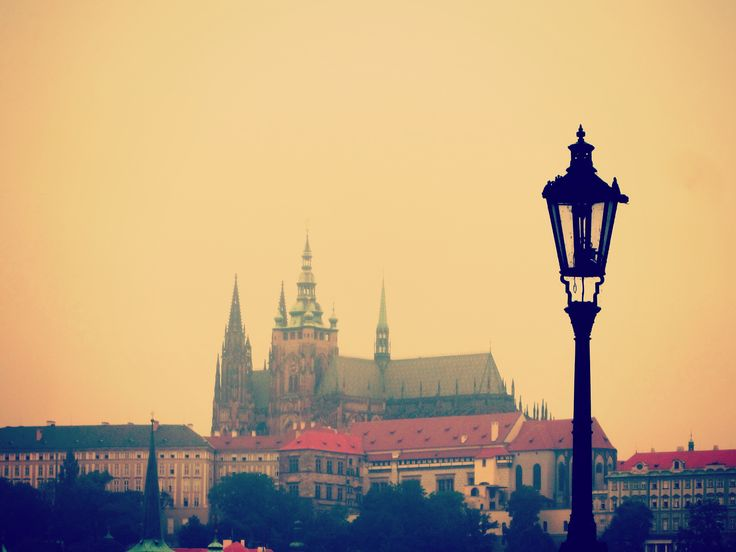 Charles Bridge, Prague.  The royal atmosphere of the old town is for me forever emphasized by the vintage lamps and their seducing light.