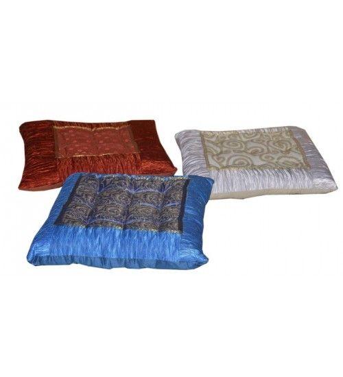 #Indyjskie #poduszki na krzesła / taborety, przystosowane do siedzenia @ http://www.indianmeble.pl/Indyjskie-poduszki-na-kzesla-taborety-HS-36-s005 #meble https://indianmeble.wordpress.com/