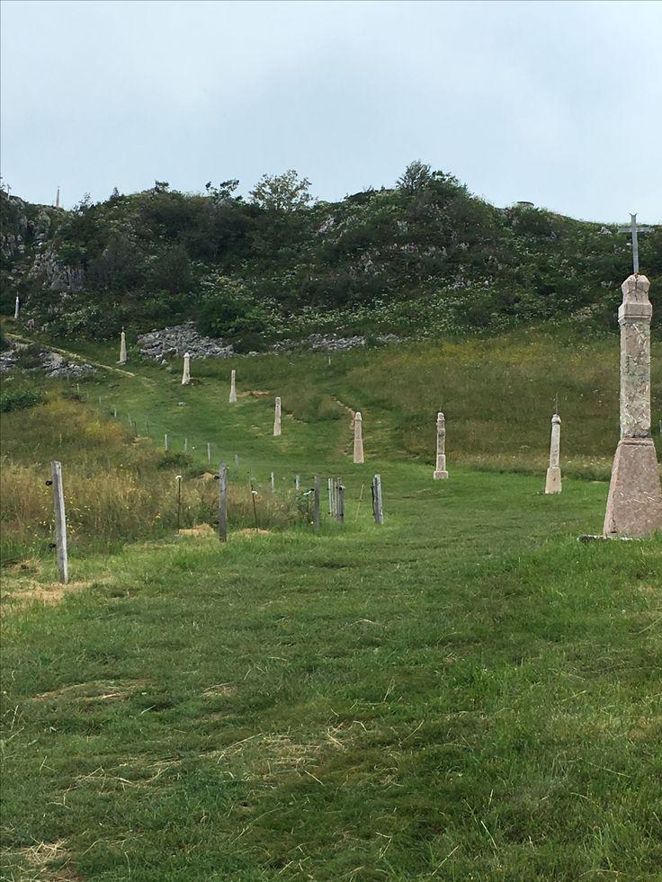 Chemin de Croix Pointe de Miribel (Haute Savoie)