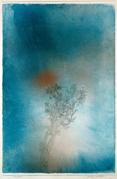 Paul Klee - Die Pflanze und ihr Feind