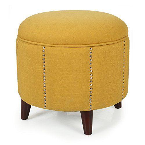 17 Best Ideas About Round Storage Ottoman On Pinterest Storage Ottoman Coffee Table Table