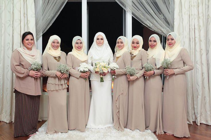 10 Inspirasi Warna Baju 'Bridesmaids' - iKahwin