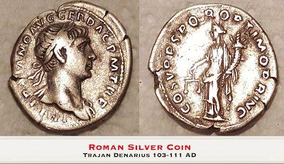 Metal Detecting Videos: Roman Silver Coins - Metal Detecting