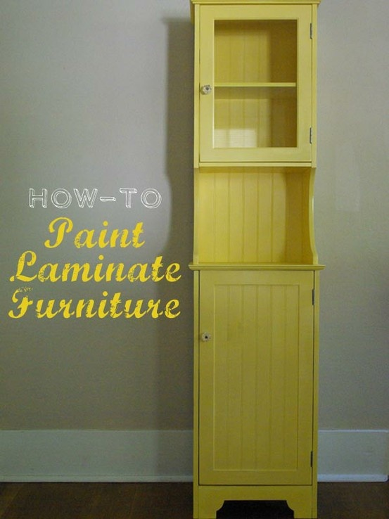 how to paint laminate cabinets how to paint laminate furniture do it yourself 17212