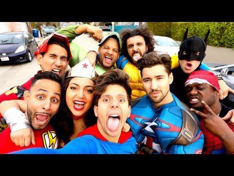 Superhero Drama   Rudy Mancuso, Anwar Jibawi & Jimmy Tatro - YouTube