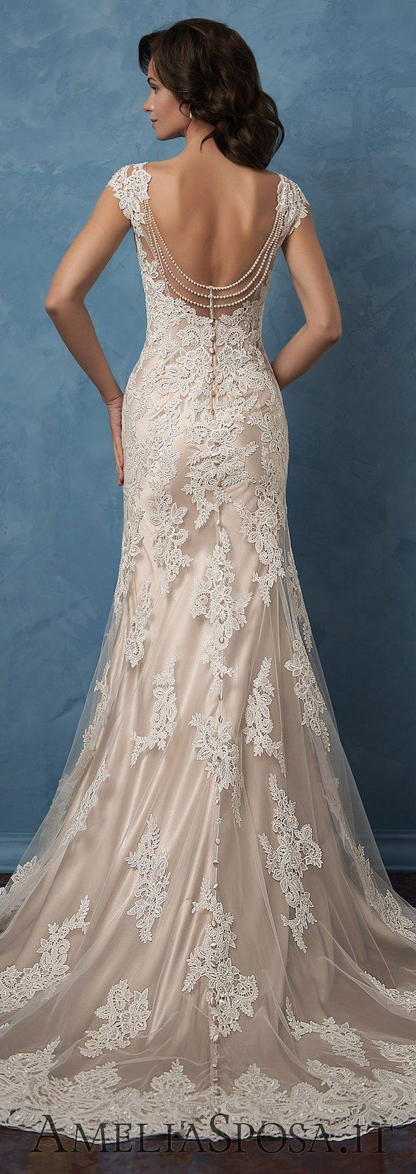 Amelia Sposa 2017 Wedding Dresses - Deer Pearl Flowers / http://www.deerpearlflowers.com/amelia-sposa-2017-wedding-dresses/