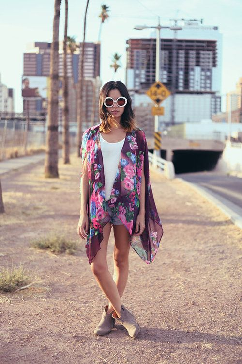 28 Best images about neon desert outfit on Pinterest | Kimonos Music festival makeup and ...