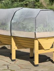 *Greenhouse Cover with Frame on VegTrug Patio Garden (sold separately)