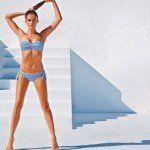Calzedonia costumi donna estate 2014 costume aloe fascia imbottita e slip