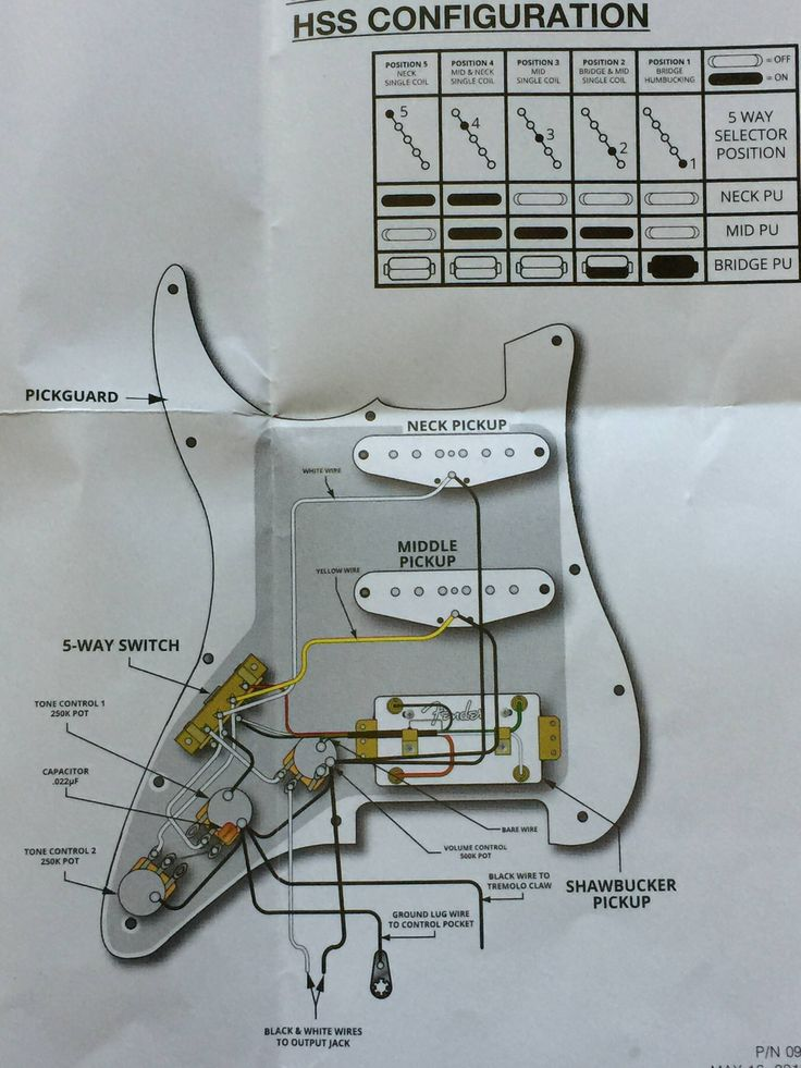 Wiring Diagrams For Guitars In 2020