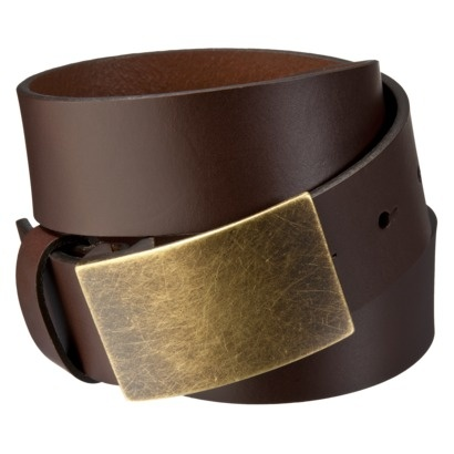 Merona Men's Belt - Casual - Brown