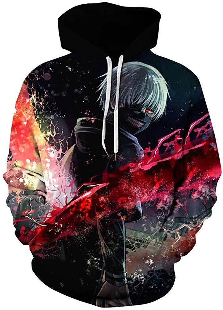Anime Tokyo Ghouls Costume Unisex Baseball Uiform Jacket Sweater Coat