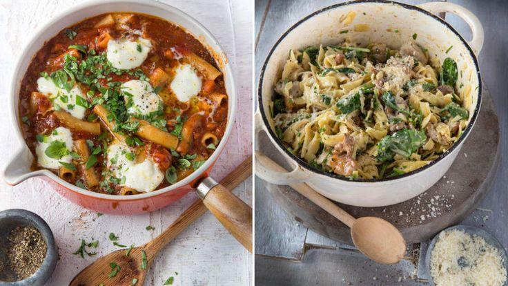 One-pot pasta: Drømmepasta i én gryte