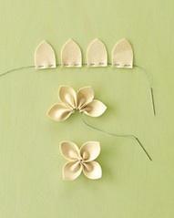 Een mooie bloem van vilt | Flower craft | #vilt #bloem #diy #simple