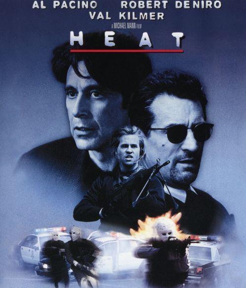 Robert De Niro Al Pacino Heat | Blu Ray!!!: Fuego Contra Fuego