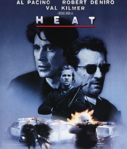 Robert De Niro Al Pacino Heat   Blu Ray!!!: Fuego Contra Fuego