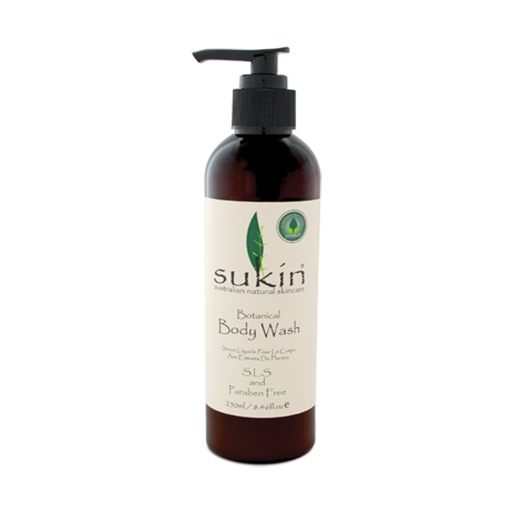 Sukin Botanical Body Wash  www.envig.com