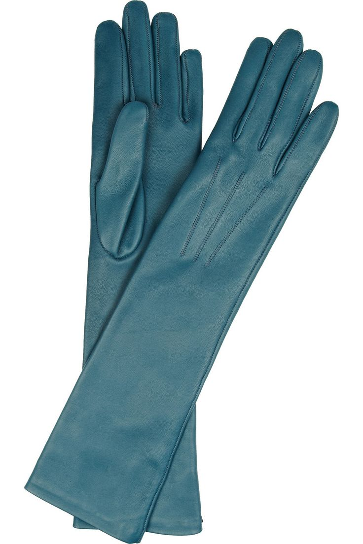 Leather driving gloves macys - Howard Howard Nokes A Porterlanvin Lanvin Long Leather Gloves