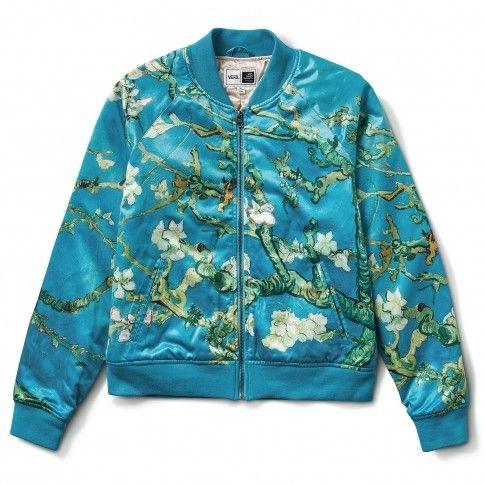 Vans x Van Gogh Bomberjack Amandelbloesem | Fashion Jas