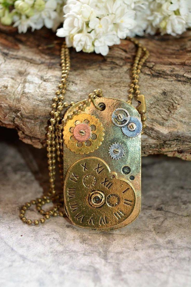 Collier Militaire Amour : Collier par amour-de-bijoux