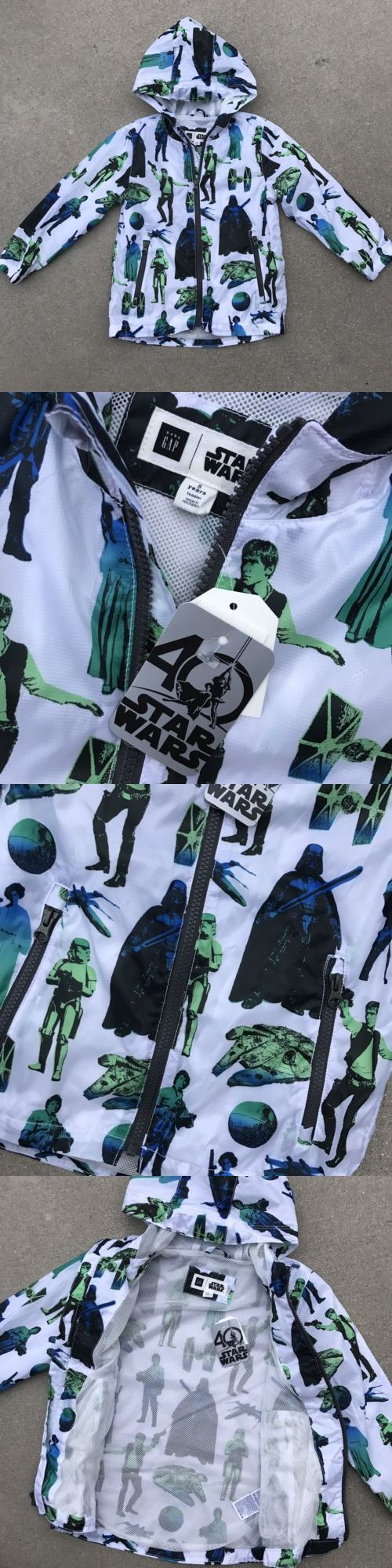 Outerwear 147324 Nwt Baby Gap Star Wars Graphic