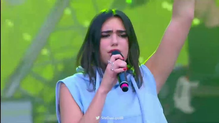 "Dua Lipa""New Rules"" at Europa Plus Live in Russia"
