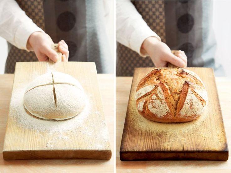 Mit diesem Rezept kann wirklich jeder das perfekte Brot backen