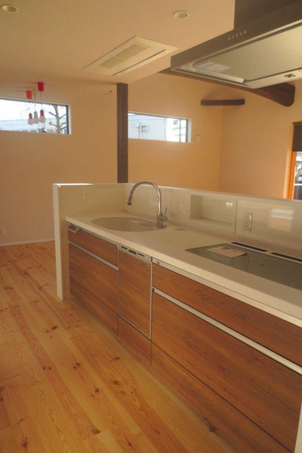 キッチン事例集 京都で新築 建替えをお考えなら 注文住宅キノハウスへ ハウステック ハウス 注文住宅