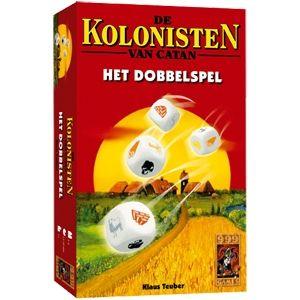 De kolonisten van Catan : Het dobbelspel speelgoed van 999 Games Kerstman, dit is een leuk spel voor Lu