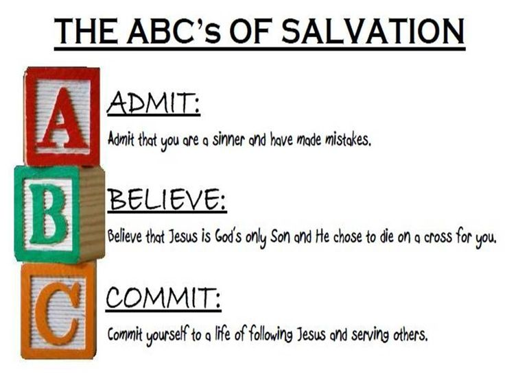 Priceless image with abc of salvation printable