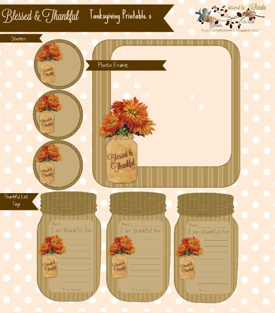 Free Card Making Printables Part - 27: I Canu0027t Let A Season Go By Without Designing Scrapbook, Card Making U0026 Craft  Supplies. Have A Wonderful Thanksgiving .