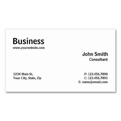 150 best computer repair business cards images on pinterest professional modern plain simple computer repair business card accmission Image collections