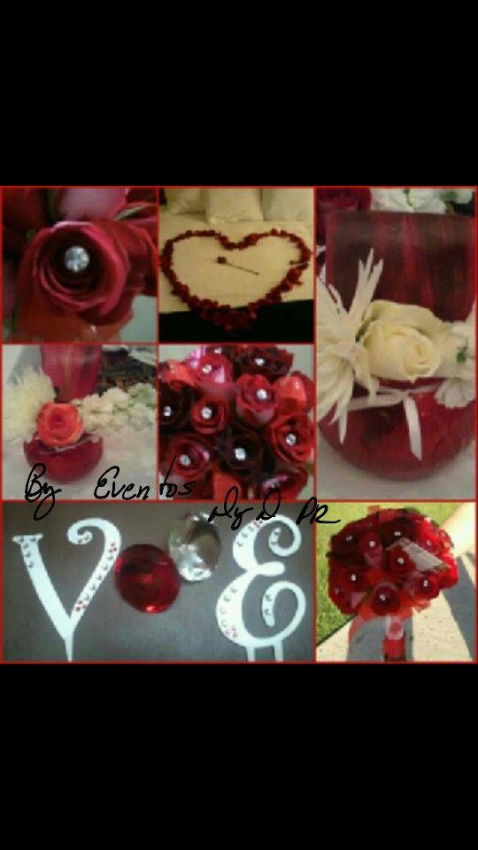 #Bouquet #Wedding #ElegantRedWedding