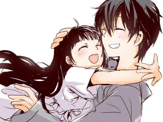 Father and daughter. Yui and Kirito <3