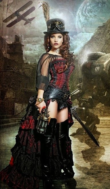 25 Epochal And Inspiring Steampunk Dresses For Women https://www.steampunkartifacts.com/collections/steampunk-glasses