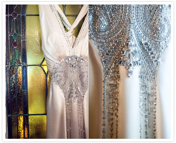 A Gatsby inspired affair... if you love the roaring 20's, you'll be inspired by this wedding.
