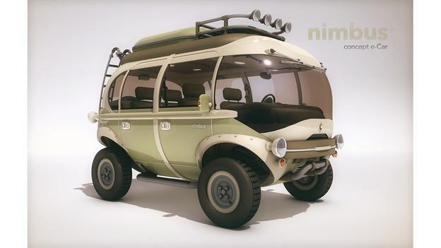 BBC - Autos - Nimbus Concept e-Car runs on flower power