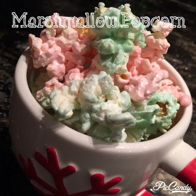 Thoroughly In Earnest: Have Yourself a Yummy Little Christmas - Marshmallow Popcorn
