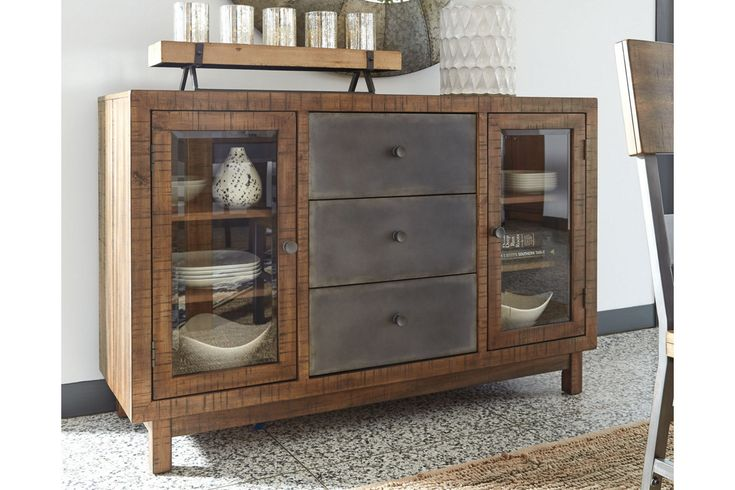 Harlynx Dining Room Server | Ashley Furniture HomeStore