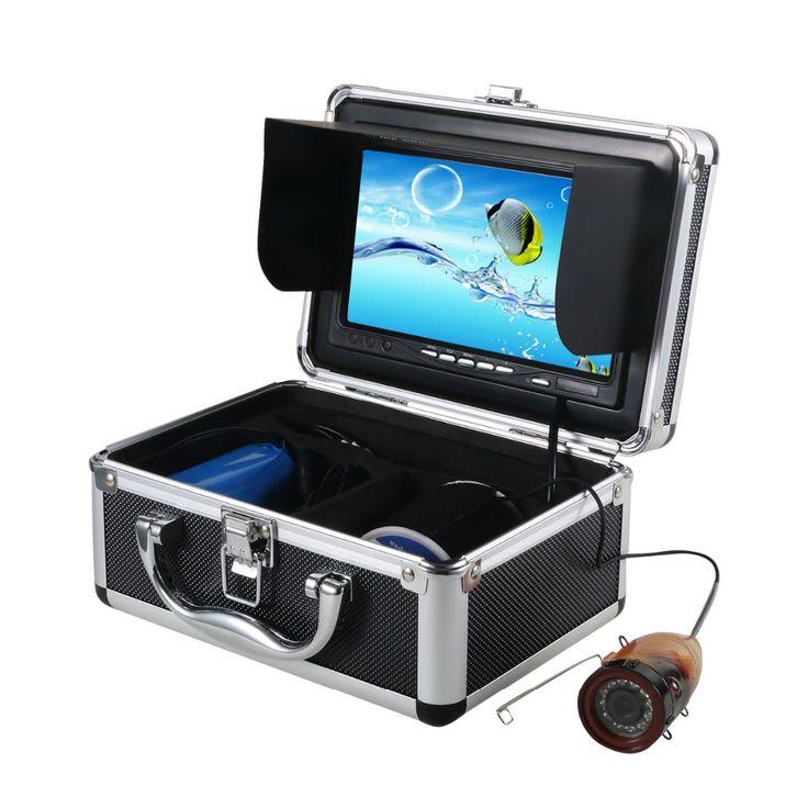 7'' LCD Screen 15M Underwater Fishing Camera DVR Record Camera Fish Finder Video Camera for Fishing with 4G SD Card W2533A15 #women, #men, #hats, #watches, #belts, #fashion