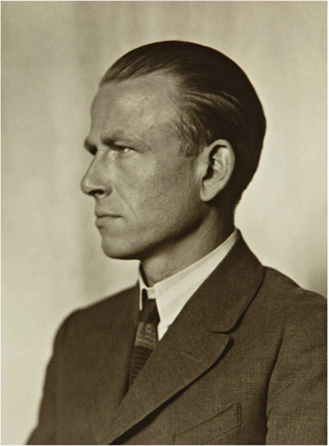Otto Dix, by August Sander