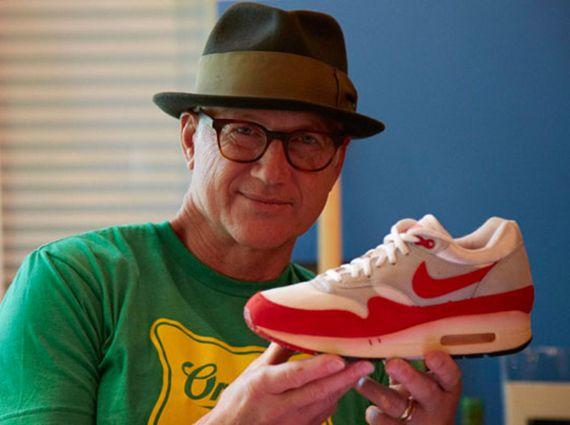 Tinker Hatfield - Designer of the Nike Air Max 1