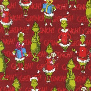 The Grinch in Celebration in Flannel