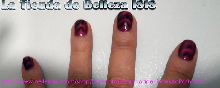 Pruebas con el Esmalte Magnético Passion Magnetic http://www.bellezaisis.com/shop/index.php?main_page=product_info_id=1290_source=pinterest_medium=pinoriginal_content=imagenpin_campaign=crisnailesmaltart