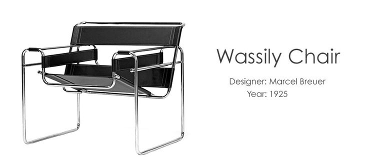 wassily chair famous furniture design famous furniture