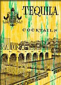 Vintage recipe booklet from Sauza Tequila, recipes at https://www.facebook.com/pages/Classic-Cocktail-Guides-and-Retro-Bartender-Books/170772852959940