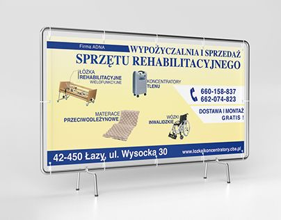 "Check out new work on my @Behance portfolio: ""Banner design for a rehabilitation equipment rental"" http://be.net/gallery/59686513/Banner-design-for-a-rehabilitation-equipment-rental"